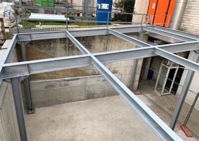 Nuove tettoie deposito cilindri ink jet